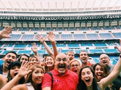 Futbol Soccer Real Madrid Stadium