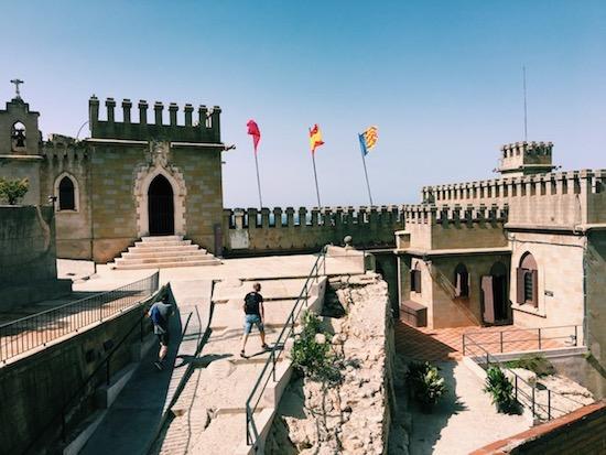 Castle In Xativa Spain