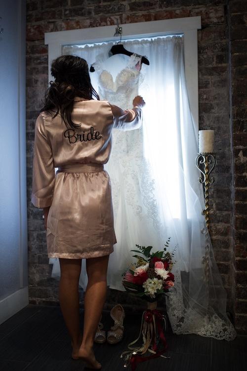 Champagne Bride Robe