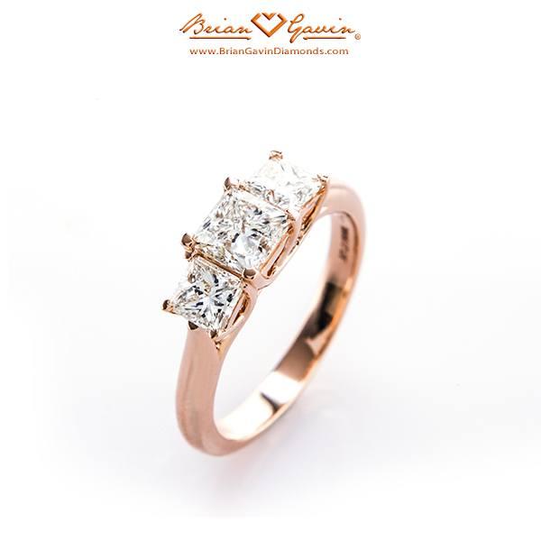 Brian Gavin Diamonds Engagement Ring
