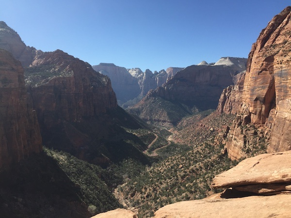Canyon Overlook View
