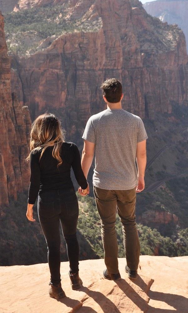 Zion Overlook Canyon