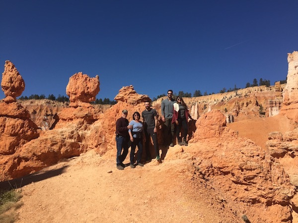 Family Pic Bryce Canyon