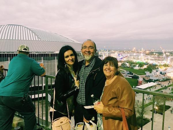 Familia Fernandez at Houston Rodeo