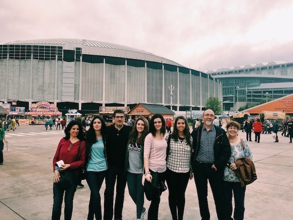Spain friends at Houston Rodeo