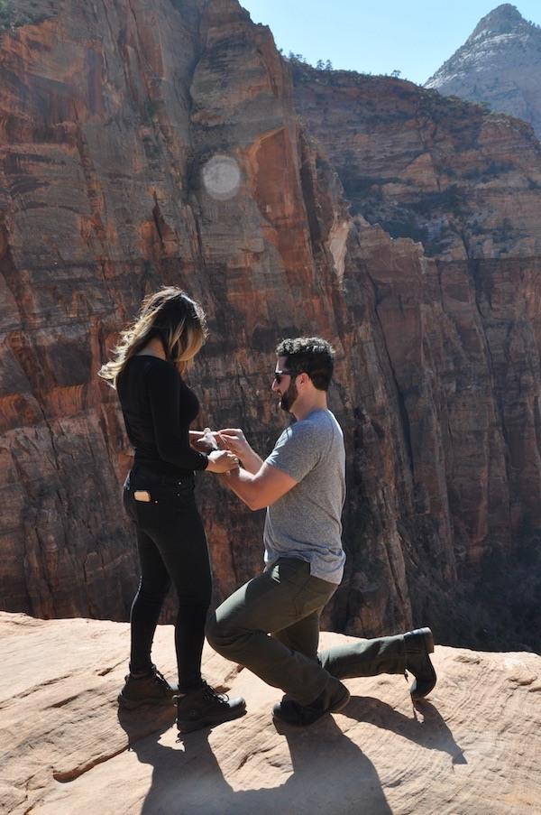 Zion National Park Engagement