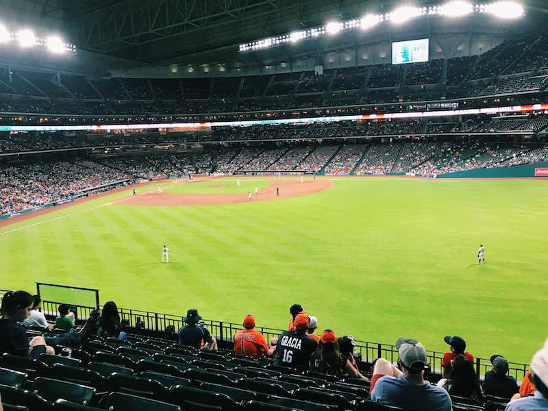 Houston Astros Baseball Game