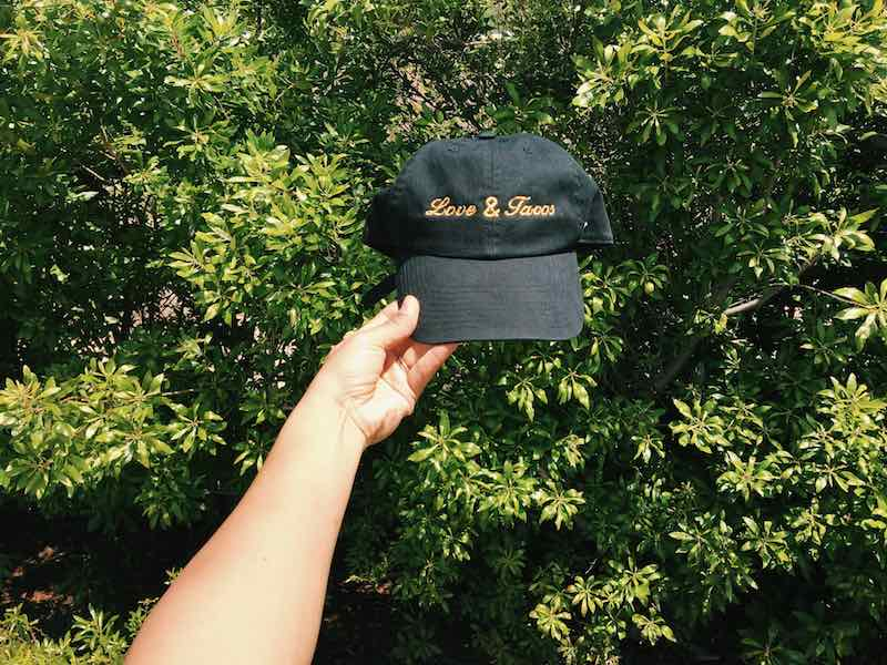 Love and Tacos Dad Hat Giveaway 13
