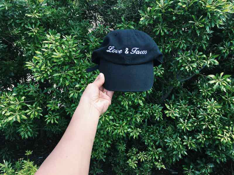 Love and Tacos Dad Hat Giveaway 11