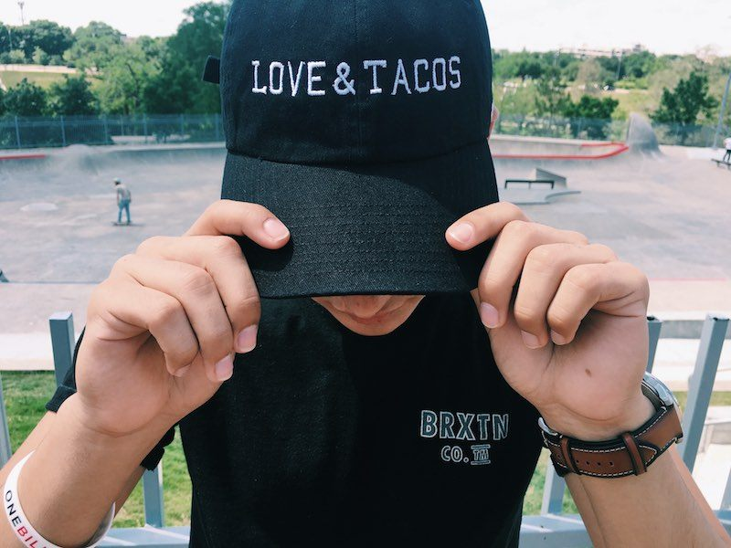 Love and Tacos Dad Hat Giveaway 1