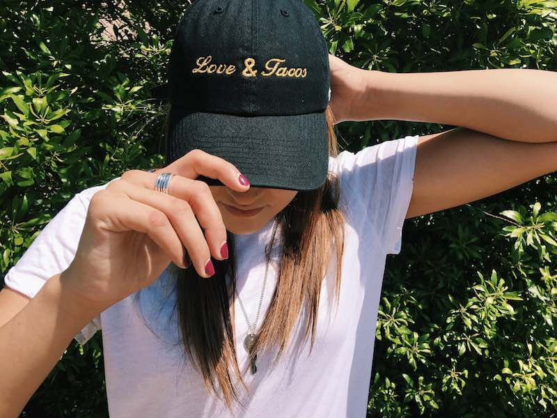 Love and Tacos Dad Hat Giveaway 4