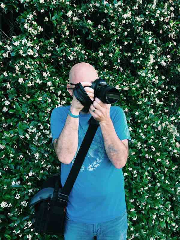 photograph of a photographer