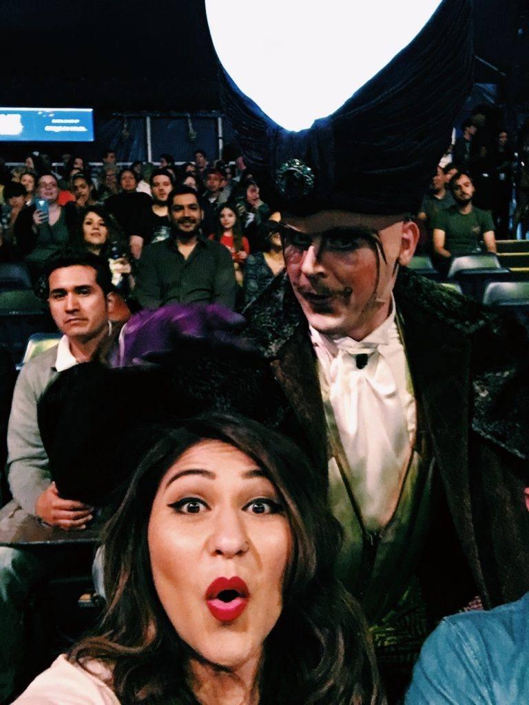 Kurios Cirque Du Soleil Houston Selfie With Character