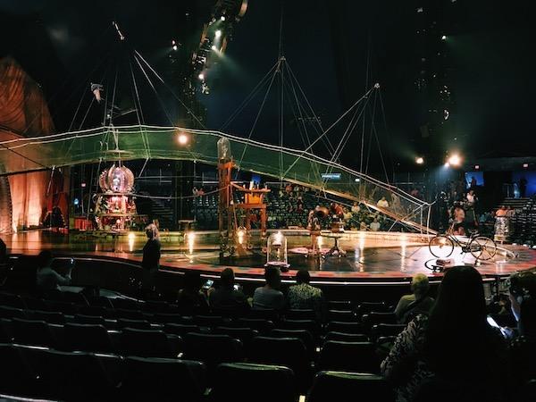 Kurios Cirque Du Soleil Houston Stage Set