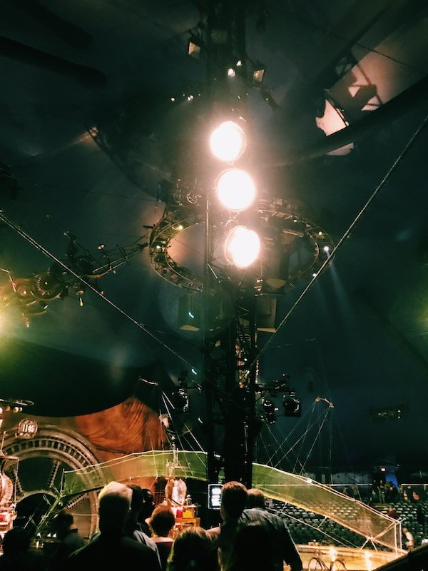 Kurios Cirque Du Soleil Houston Lights
