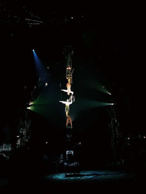 Kurios Cirque Du Soleil Houston Acrobats On Chair