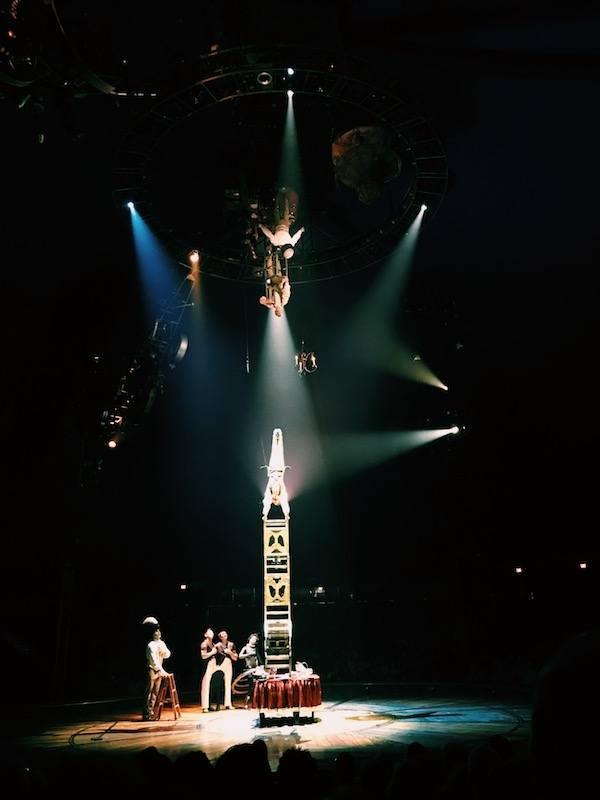 Kurios Cirque Du Soleil Houston Acrobat On Chair
