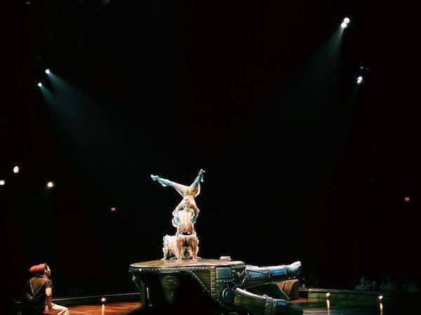 Kurios Cirque Du Soleil Houston Contortionists Stunts