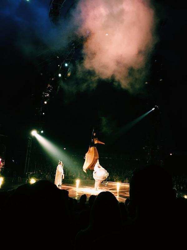 Kurios Cirque Du Soleil Houston Fog