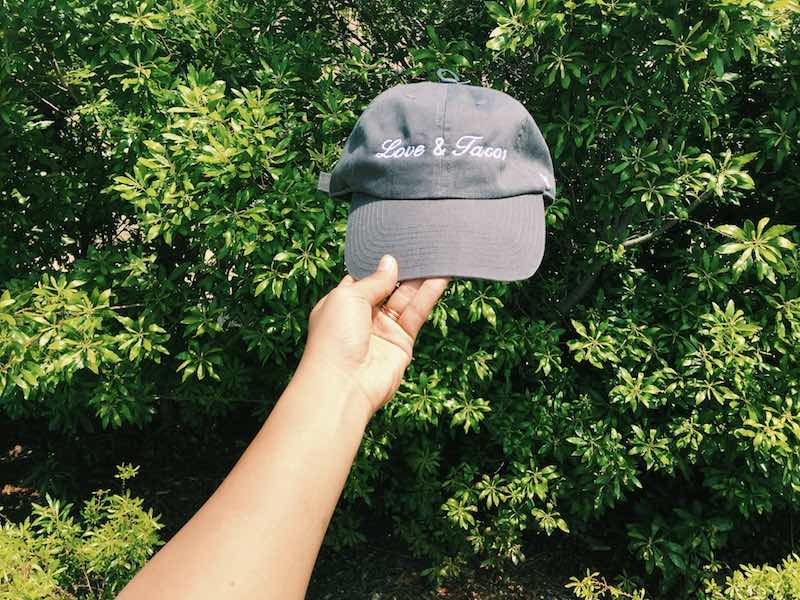 Love and Tacos Dad Hat Giveaway 12