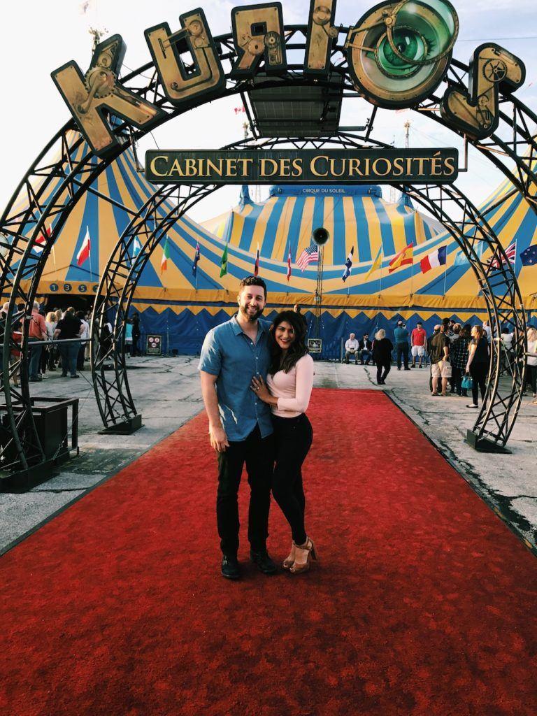 Kurios Cirque Du Soleil Houston Picture Outside Tent