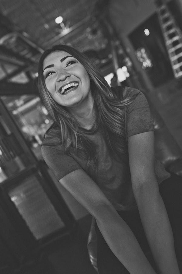 Sami laughing