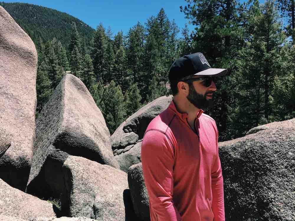 Handsome Man In Colorado