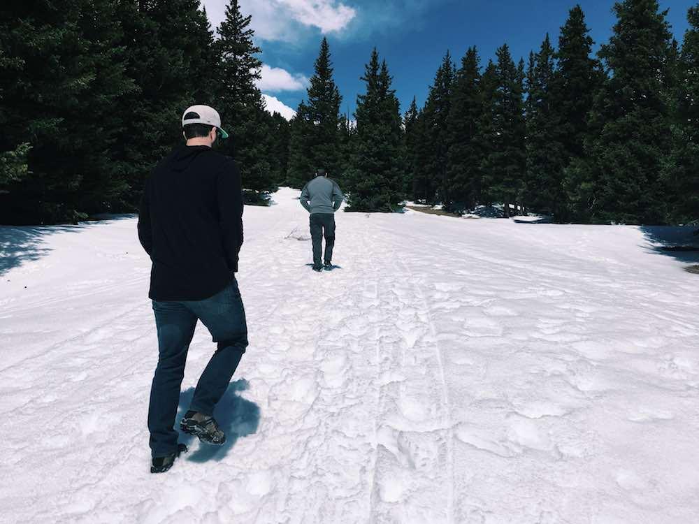 Snow Hiking Brekenridge