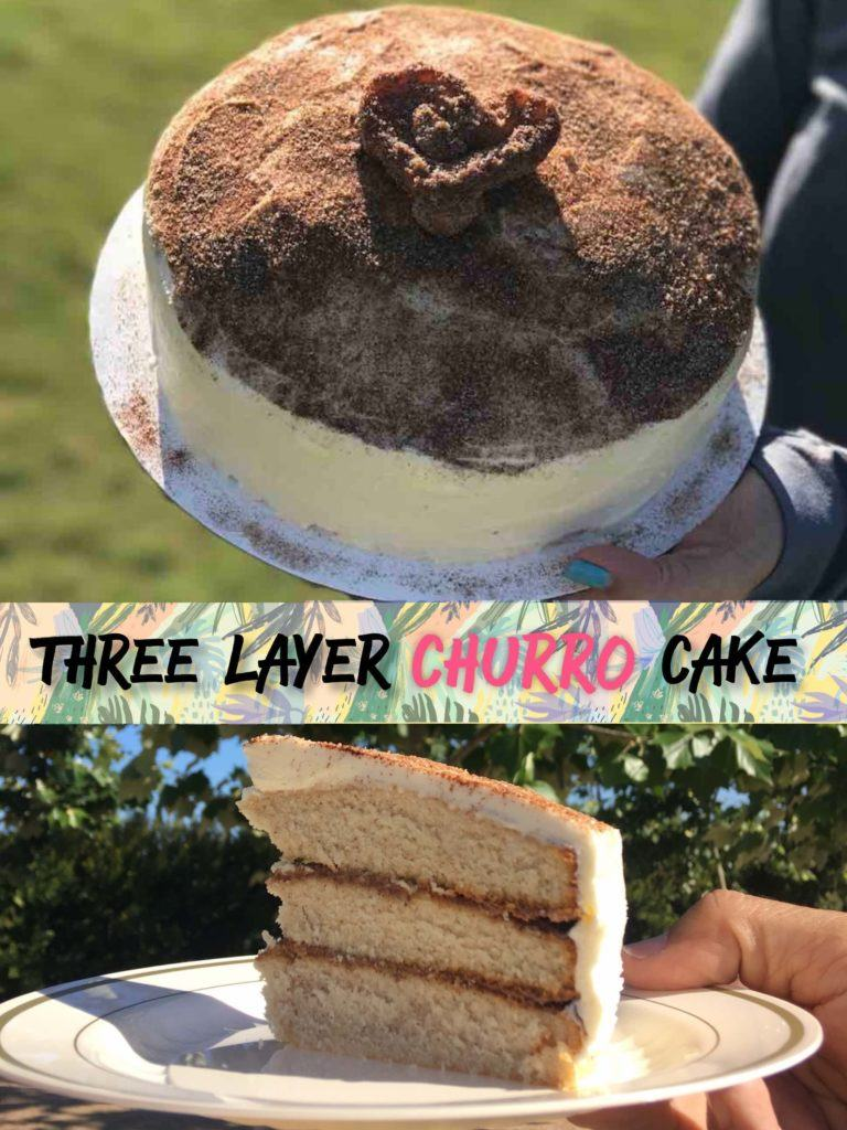 Three Layer Churro Cake Recipe