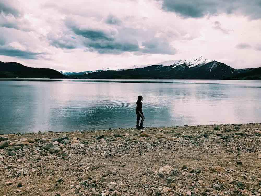 Beautiful Lake In Colorado