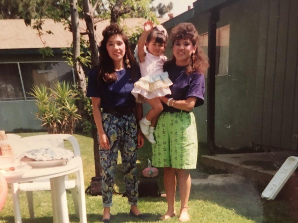 Mom And Nina And Quimi
