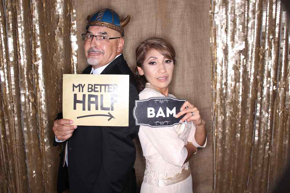Papi And Mom Photo Booth