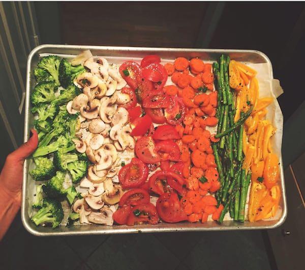 get your veggies in!