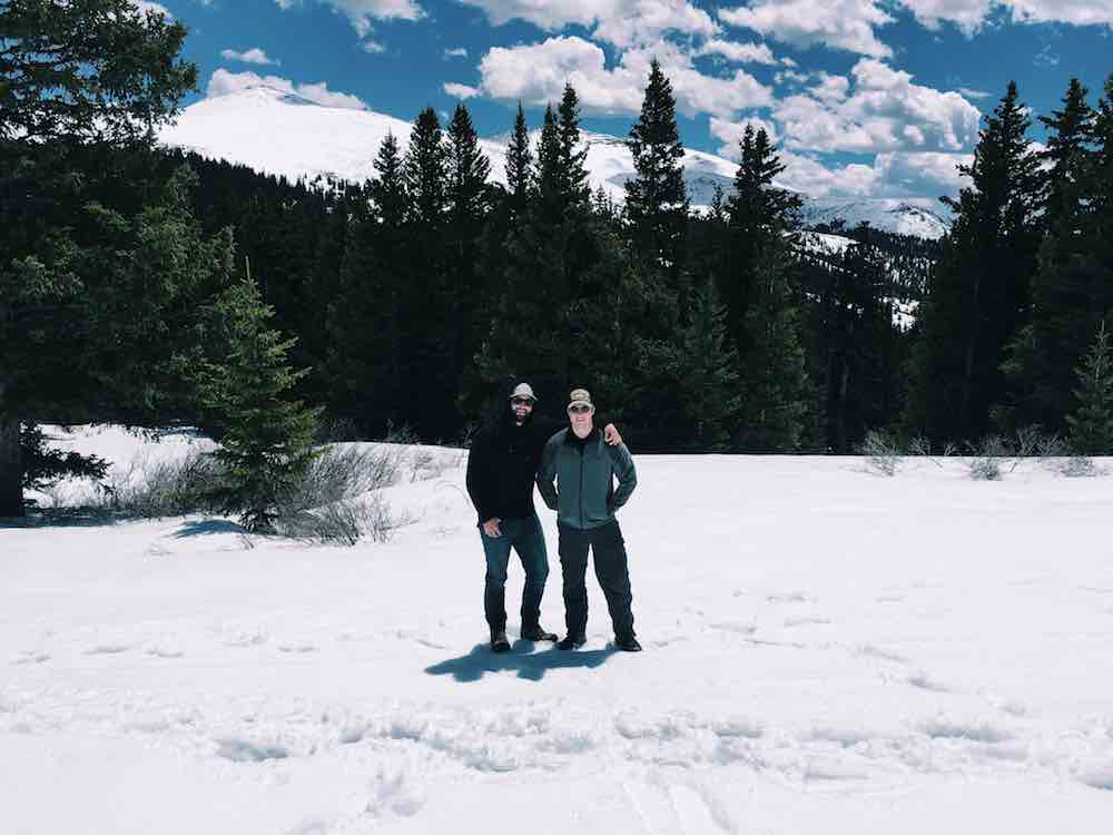 Brothers Brekenridge Snow