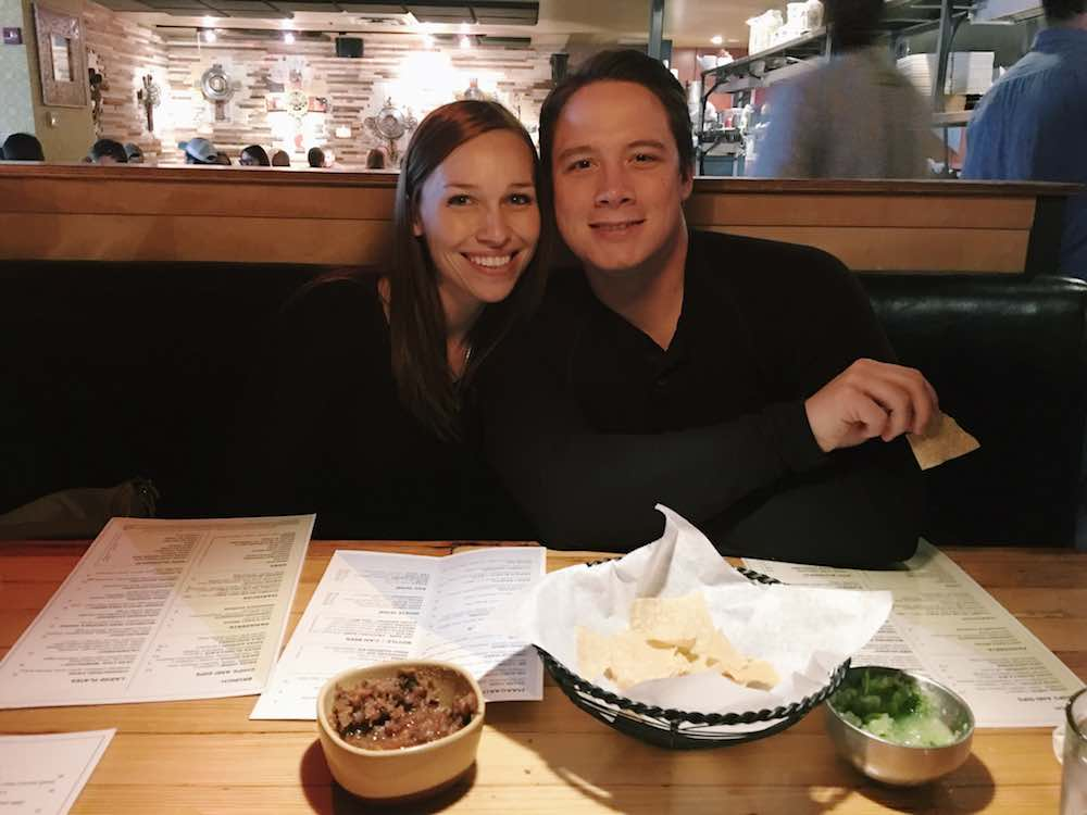 Mark And Angela At Lola