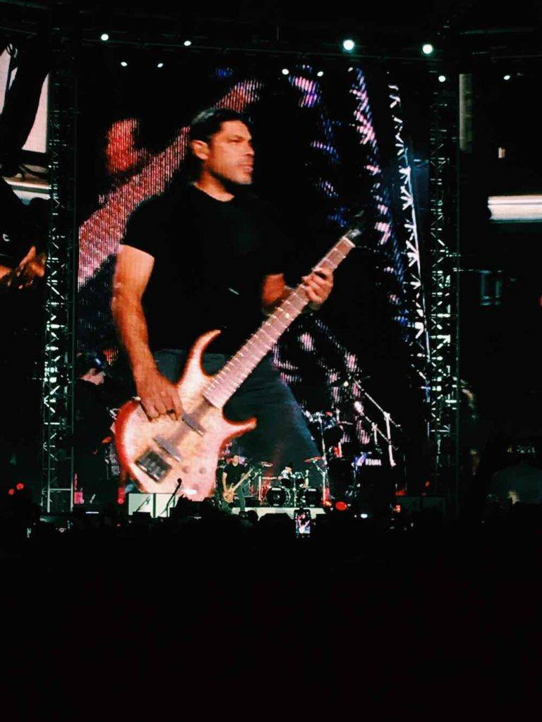 Metallica Bassist