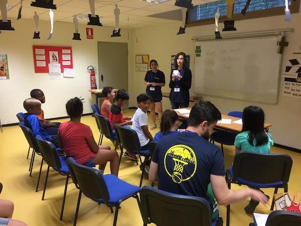 English Classes At Camp