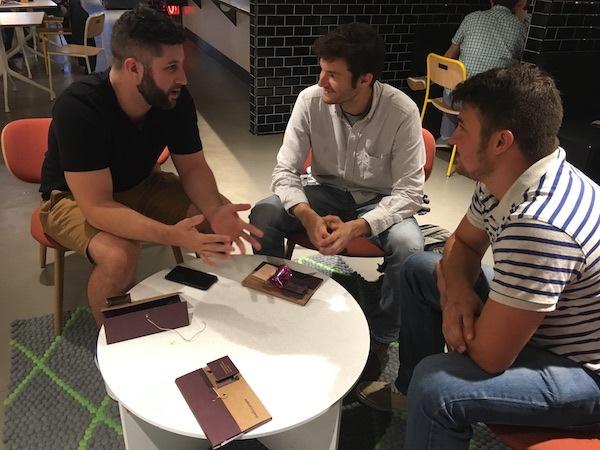 Meeting At The Google Campus