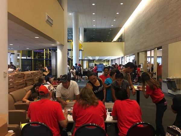 Donation Distribution Hurricane Harvey Relief