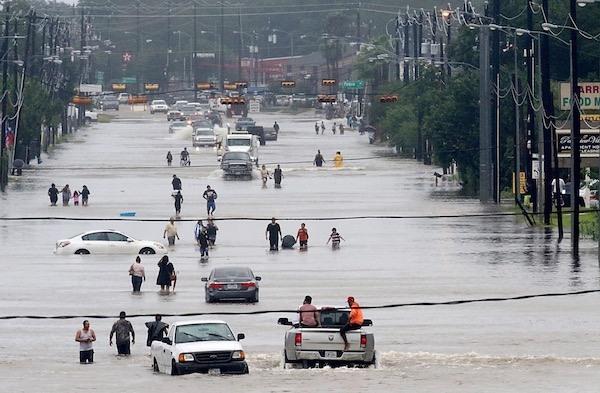 Houston Flooding In Hurricane Harvey Catastrophe