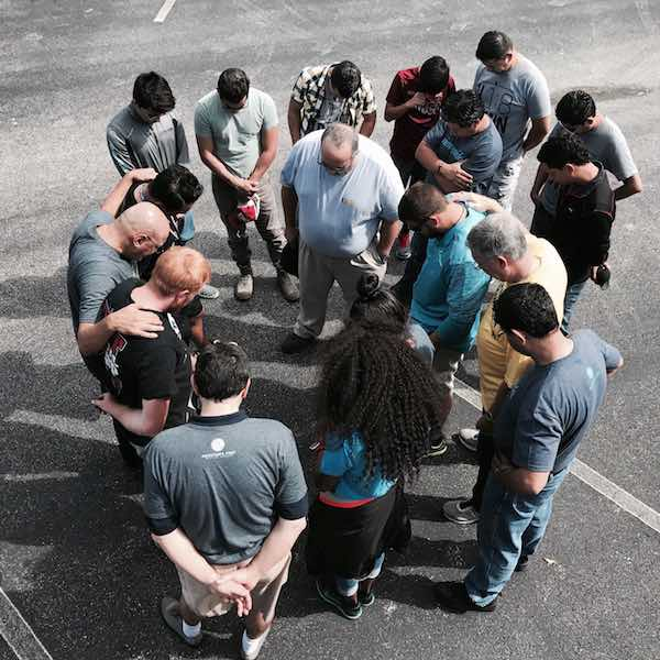 Praying Hurricane Harvey Relief