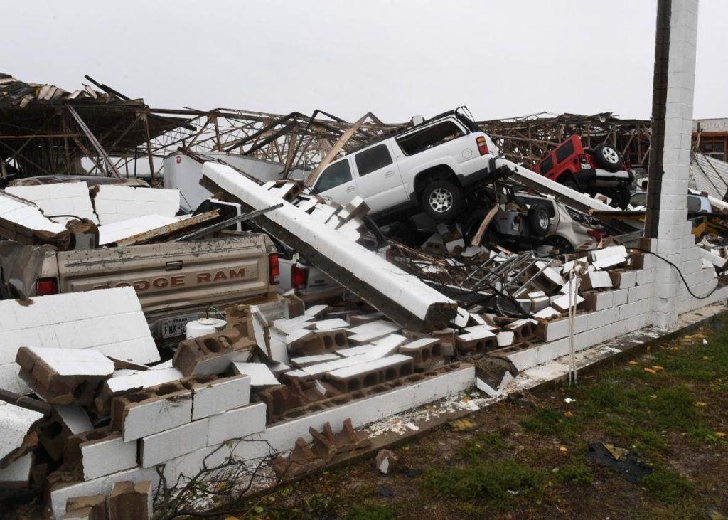 Rockport Damage Hurricane Harvey