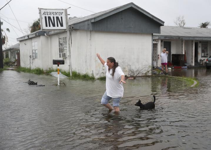 Rockport Flooding Hurricane Harvey