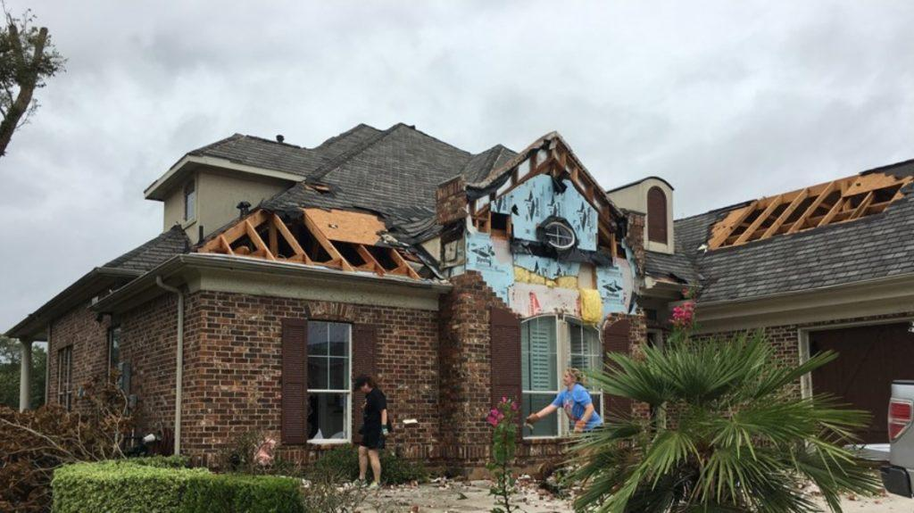 Sienna Plantation Tornado Hurricane Harvey