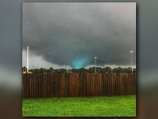 Cypress Tornado Hurricane Harvey