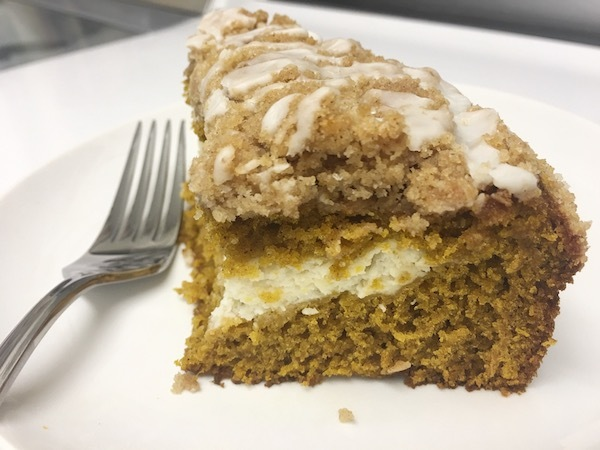 Fall Dessert Recipe - Pumpkin Cream Cheese Coffee Cake 10