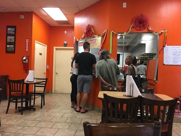 Ordering At Tacos La Bala