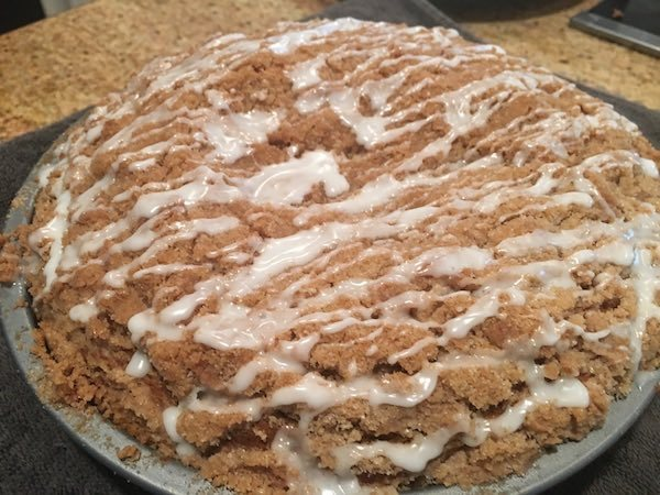 Fall Dessert Recipe - Pumpkin Cream Cheese Coffee Cake 7