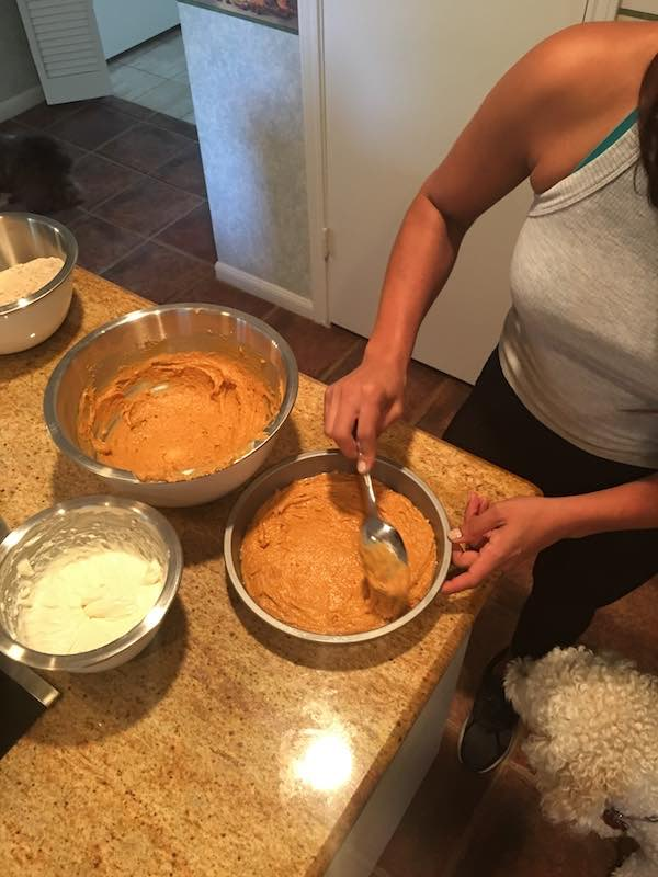Fall Dessert Recipe - Pumpkin Cream Cheese Coffee Cake 3