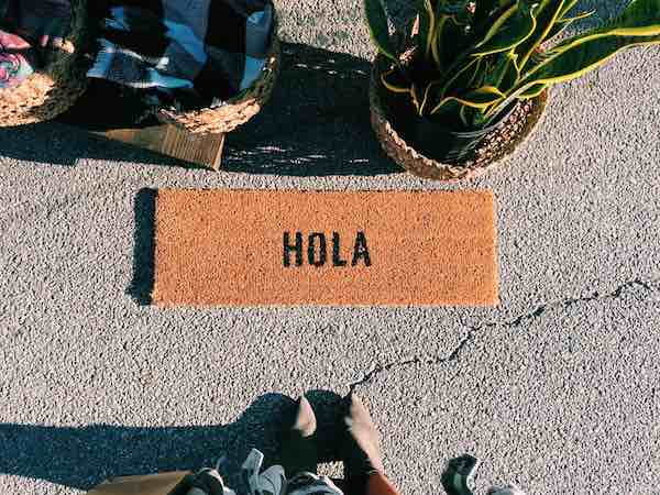 Hola Door Mat At Silobration